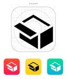 Open box icon. Vector illustration vector illustration