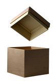 Open box isolated Stock Images