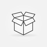 Open box line icon Royalty Free Stock Photography
