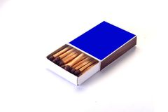 Open box of matches Royalty Free Stock Photography