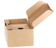 Open box on white background. XL size. Stock Photos