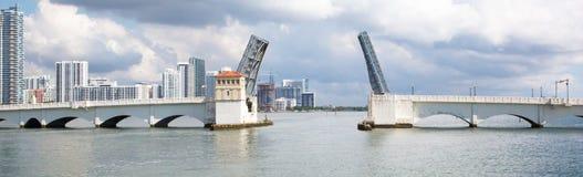 Open bridge  in Miami Stock Photo