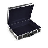 Open briefcase Stock Images