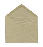 Open brown envelope Royalty Free Stock Photo