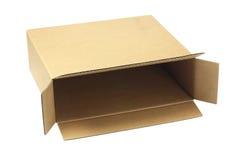 Open Brown Paper Box Stock Photos