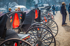Open Buggies For Sale at Annual Auction Stock Images