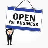 Open for Business Royalty Free Stock Photo