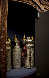 Torah Scrolls Cabinet Royalty Free Stock Photography