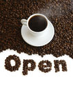 Open cafe Royalty Free Stock Image
