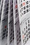 Open calendar page Stock Photos