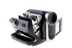 Open camcorder royalty-vrije stock afbeeldingen