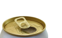 Open can for cool drink Stock Photography
