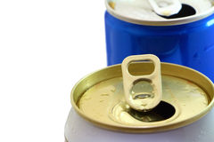 Open can for cool drink Royalty Free Stock Image