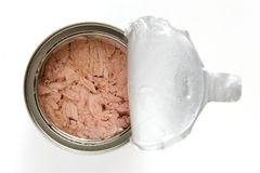 Open can of tuna Stock Images
