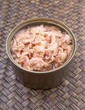 Open Can Of Tuna Flake II Royalty Free Stock Photo