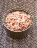 Open Can Of Tuna Flake II royalty free stock photo
