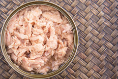 Open Can Of Tuna Flake IV Stock Photos