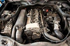 Open car engine Stock Photos