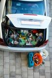 Open car trunk Royalty Free Stock Photos