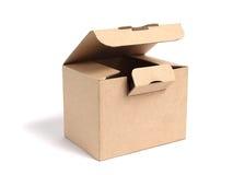 Open cardboard box Royalty Free Stock Image