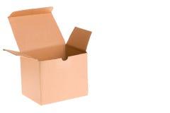 Open Cardboard Box Royalty Free Stock Photos