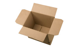 Open cardboard box Royalty Free Stock Photo