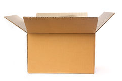 Free Open Cardboard Box Royalty Free Stock Image - 17176246