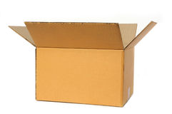 Free Open Cardboard Box Royalty Free Stock Images - 17176249