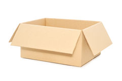 Open Cardboard Box Stock Image