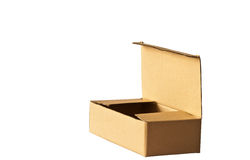 Open cardboard box Royalty Free Stock Image