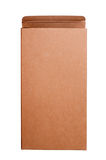 Open cardboard box. On white background Royalty Free Stock Photos