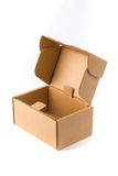 Open Cardboard Box Or Brown Paper Package Box Isolated With Soft Royalty Free Stock Photos