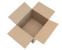 Open cardboard box Stock Photos
