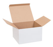 Open cardboard box Royalty Free Stock Photos