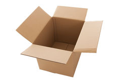 Open cardbox Royalty Free Stock Photography
