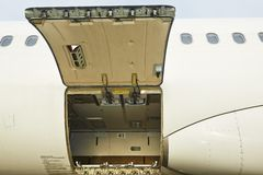 Open cargo door Stock Photography