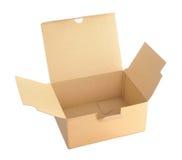 Open carton box Royalty Free Stock Photos