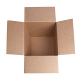 Open carton box Royalty Free Stock Images