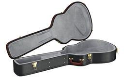 Open case guitar Stock Photo