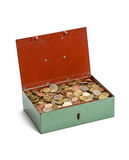 Open cash box Royalty Free Stock Image