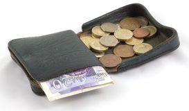 Open Cash Wallet Royalty Free Stock Photography
