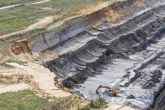Open cast coal mining Stock Photos