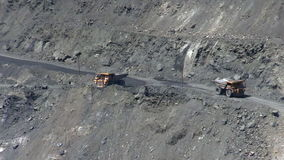 Open cast mine stock video footage