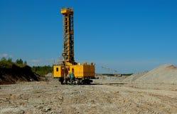 Open cast mining Royalty Free Stock Photos