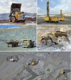 Open cast mining of iron ore Royalty Free Stock Photo