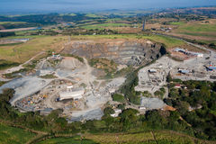 Open Cast Stone Quarry Stock Photos