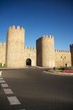 Open castle road Stock Images