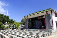Open chinese folk opera stage Stock Image