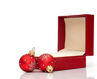 Open Christmas Gift Box Royalty Free Stock Images