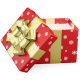 Open christmas gifts Stock Photos
